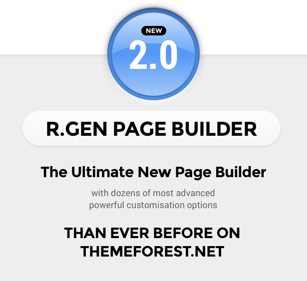 R.Gen Landing Pages