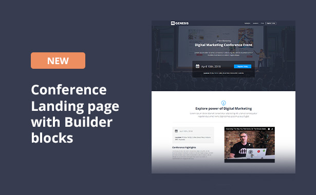 RGen | HTML Landing Pages with Builder - 21