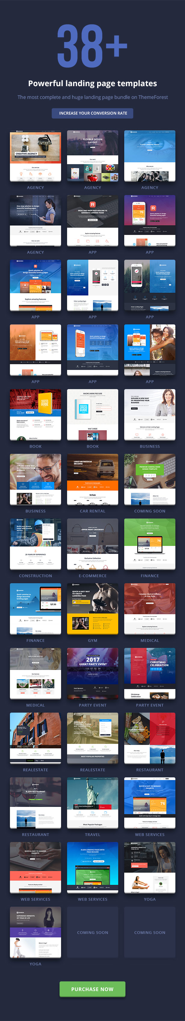 RGen | HTML Landing Pages with Builder - 28