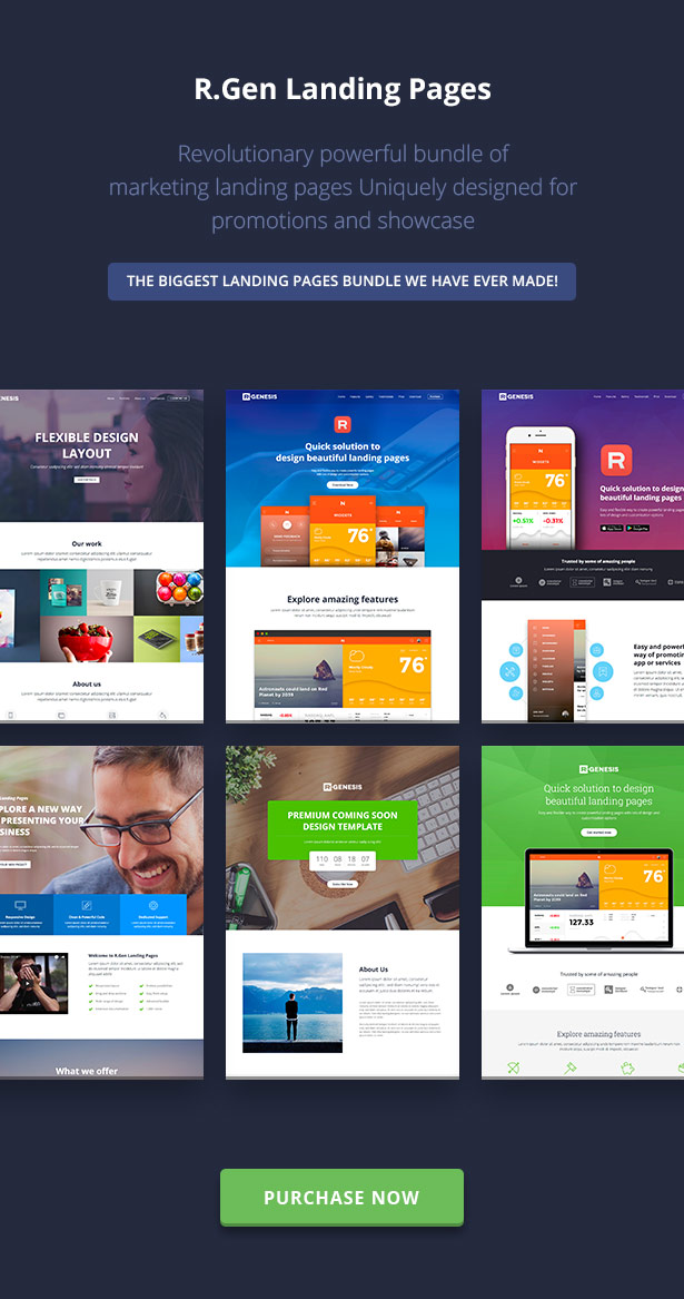 RGen | HTML Landing Pages with Builder - 26