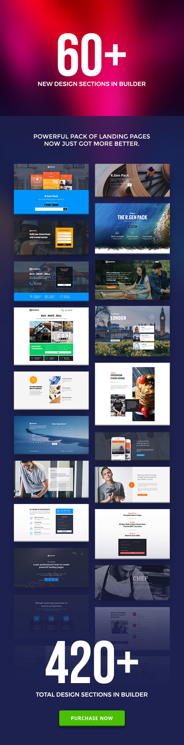 RGen | HTML Landing Pages with Builder - 4