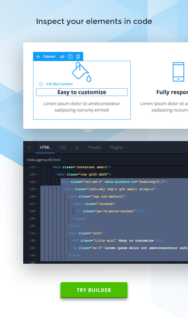 RGen | HTML Landing Pages with Builder - 12