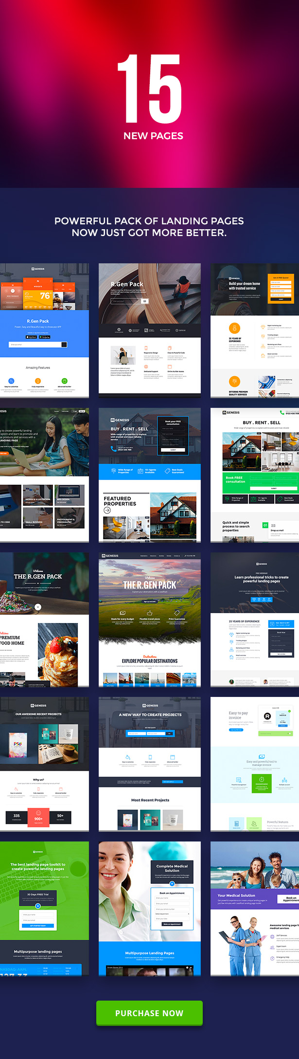 RGen | HTML Landing Pages with Builder - 3