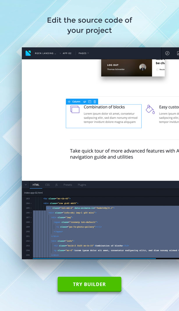 RGen | HTML Landing Pages with Builder - 13