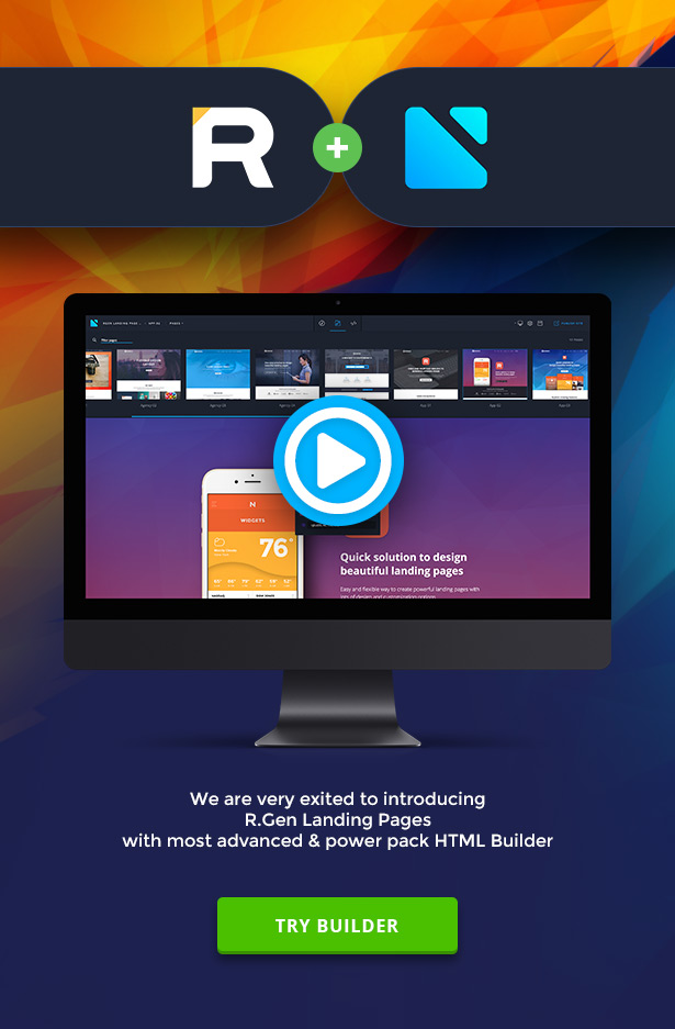 RGen | HTML Landing Pages with Builder - 7
