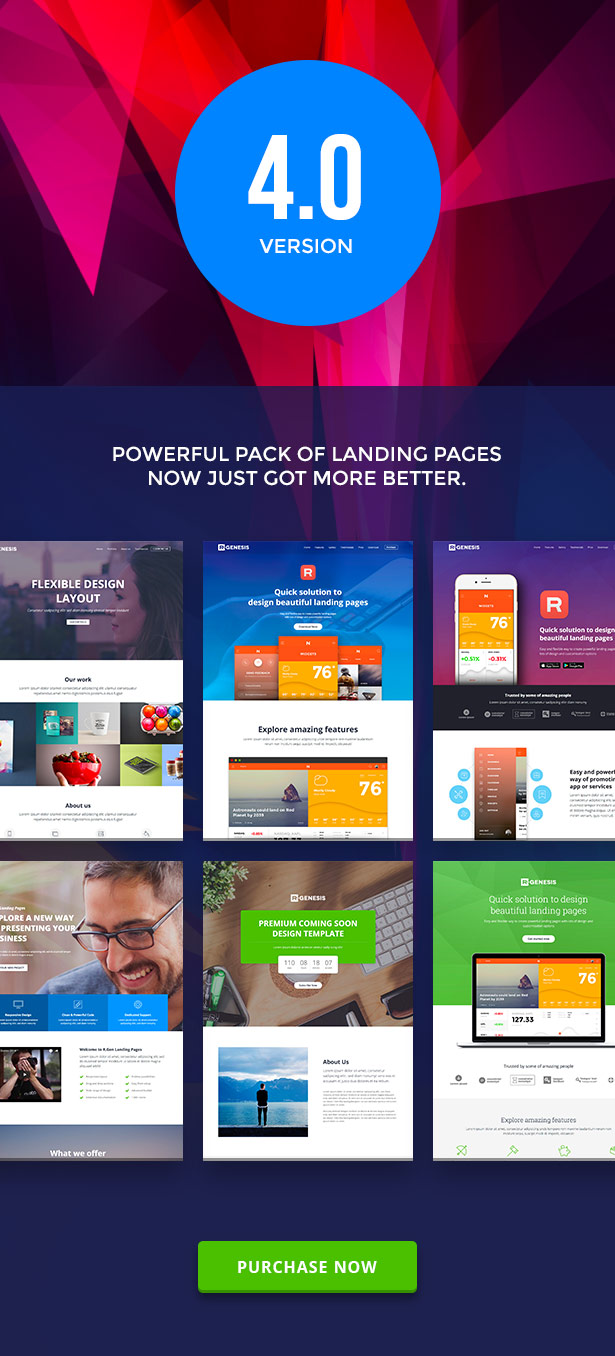 RGen | HTML Landing Pages with Builder - 6