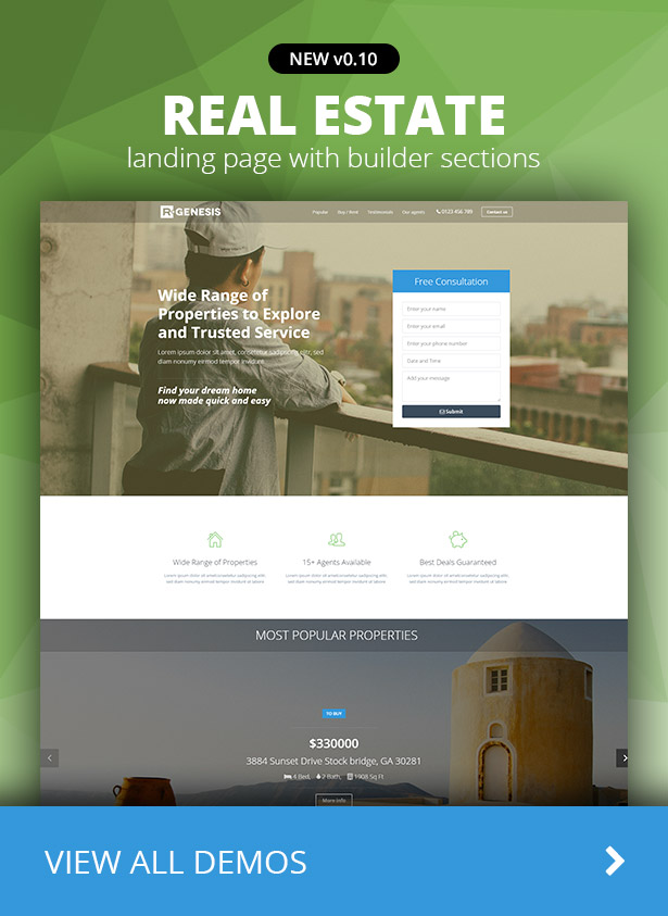 R.Gen Landing Pages